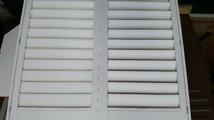 Vinyl interior shutters Kitchener / Waterloo Kitchener Area image 1