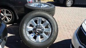 "2018 FORD F350 PLATINUM SUPERDUTY 20"" brand new wheels & Tires"