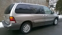 **2001 FORD WINDSTAR LIMITED-LIKE NEW-AUCUNE ROUILLE-7 PASSENGER