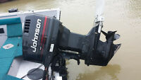 90 Johnson Outboard Motor