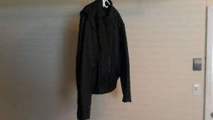 Men's Leather motorcycle jacket - size 48