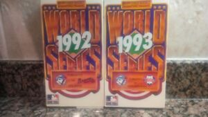 Collectible Sports VHS Tapes- starting at $15