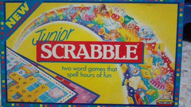 Junior Scrabble Boardgame