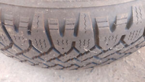 Winter Tires, One 215 70 R15, One 195 65 R15, Good Condition