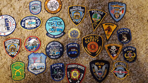 Huge Police Patch / Law Enforcement Patch Collection For Sale