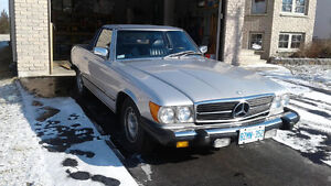 Classic Mercedes 380SL. Excellent condition.