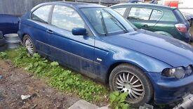 Breaking BMW e46 compact
