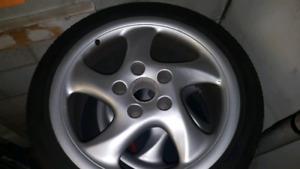 Turbo twist rims and winter tires
