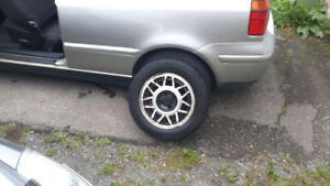 "14"" VW Snowflake Rims."