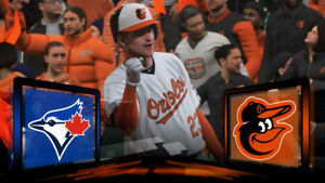 Blue Jays vs Orioles - August 20 to 22 (2-4 tickets)