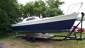Save Marina$$$:Fast 30ft Sailboat w/ Trailer Launch+Storage