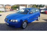 2004 Seat Ibiza 1.2 Long MOT 1 Owner Excellent Condition Bargain