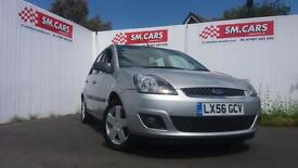 2007 56 FORD FIESTA 1.25 ZETEC CLIMATE 5 DOOR.GREAT EXAMPLE.12 MONTHS MOT.2 KEYS