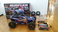 Traxxas Rustler VXL Brushless RC Car With Extra Battery and More