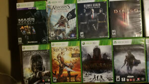 Selling tons of Xbox 360 Games - Best offer takes them