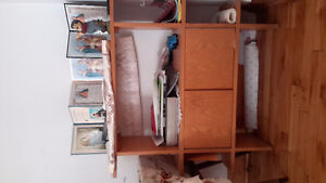 Shelving unit available