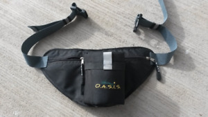 O.A.S.I.S. Hiking Hydration Belt, water bottle holder - New
