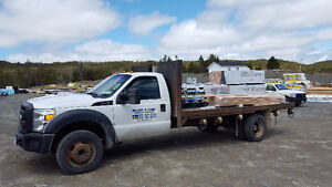 2011 FORD 450 FLATBED
