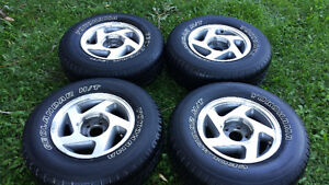 Ford explorer wheels geolandar tires