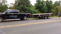 Flatbed trailer and truck for Hire