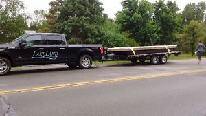 Flatbed trailer and truck for Hire Kingston Kingston Area image 1