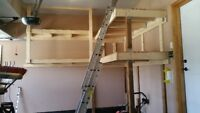 !! GARAGE SHELVING AND STORAGE SOLUTIONS !!