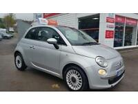 FIAT 500 LOUNGE, Silver, Manual, Petrol, 2009