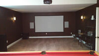 TV & Home Theatre Install  H T A V