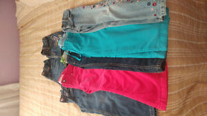 Size 4 jeans- size 5 jeans shirts everything for $20