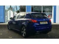 2020 Peugeot 308 1.2 PureTech GPF GT Line EAT (s/s) 5dr Auto Hatchback Petrol Au