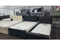 BRAND NEW BEDS AND MATTRESSES FOR SALE, 50% OFF ! WAREHOUSE CLEARANCE