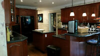 $700 - KITCHEN CABINETS - REAL WOOD