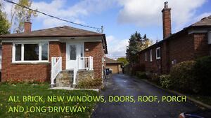 3 Bedroom Spacious, Renovated Scarborough Bungalow for Rent