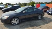 2004 Honda Accord V6 AUTO Leather - Certified . Etested