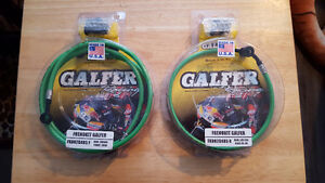 Kawasaki ZZR600 - Stainless Braided Brake Lines by Galfer USA