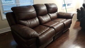Sofa with recliner
