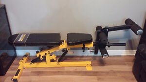 Powertec Olympic Fully Adjustable Bench and Leg Attachment