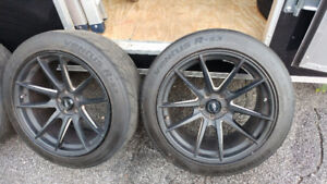 Ultra light wheels 720Form GTF1 with tires