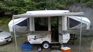 Viking hard top tent trailer