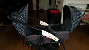 Costco Double Stroller, Changes from front to back
