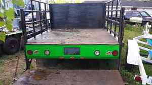 Very well built flat bed for a 1 ton truck London Ontario image 4