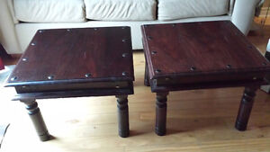 Gorgeous Wood End Tables London Ontario image 1