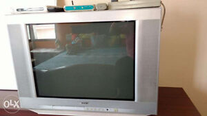 32 inch Sony Trinitron with remote. $15