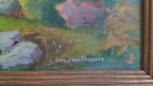 """Jean Chandler """"Autumn Huntsville"""" Oil on Board North Shore Greater Vancouver Area image 2"""