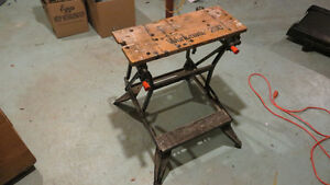 Black&Decker Workmate200 and Storage shelf on wheels