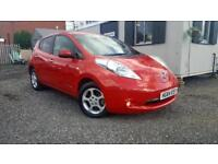 NISSAN LEAF ACENTA, Red, Auto, Electric, 2014