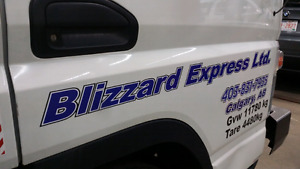 Blizzard hotshot and delivery is now blizzard express ltd