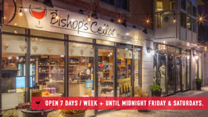 Full and Part-Time Retail Positions at Bishop's Cellar
