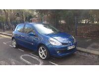 Blue renault Clio 2007 1.4 82,000 miles