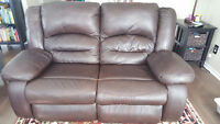 Brown leather powered reclining sofa good condition Ottawa Ottawa / Gatineau Area Preview